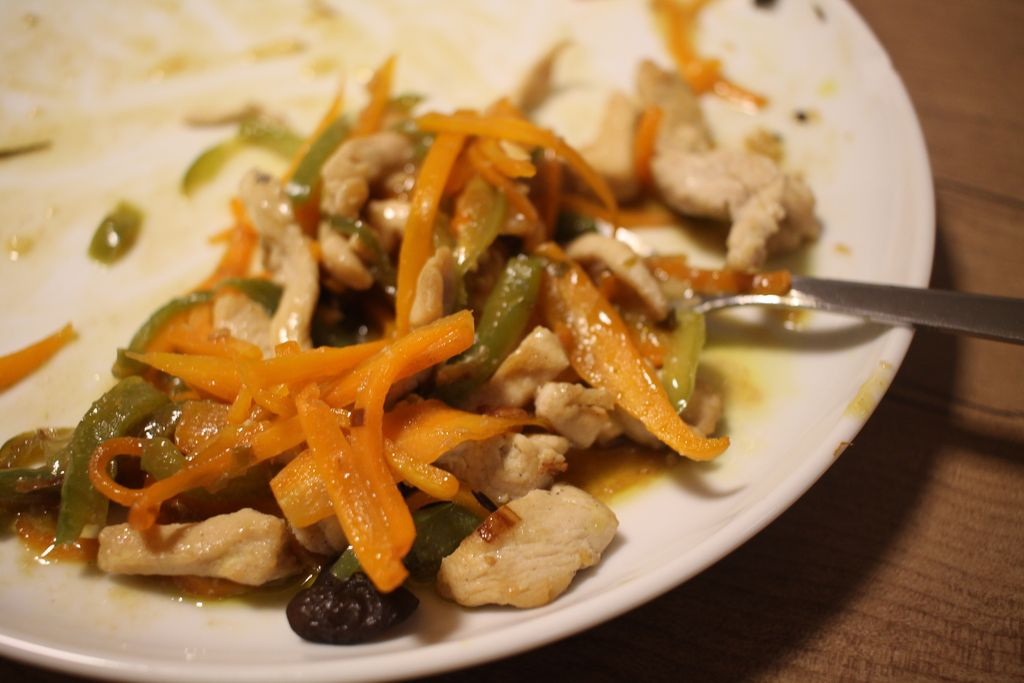 Fisch-duftendes Hühnerbrustfilet von Mengji